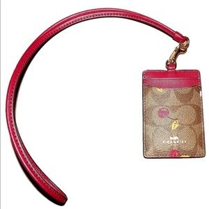 Coach lanyard new with Tags